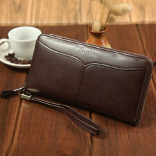 Womens Lady PU Leather Clutch Wallet Long Card Holder Purse Handbag Fashion