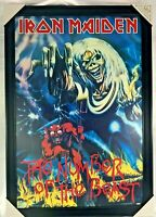 Iron Maiden Beast Number of The Beast Poster Print Matte Finish Eddie