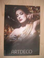 Bild Picture Dita Van Teese Golden Vintage ARTDECO 20 cm x 30 cm