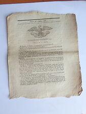 Séance CHAMBRE DES REPRESENTANTS du 1 juillet 1815 NAPOLEON bibliothéque VENDEE