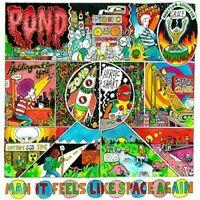 POND ( Tame Impala Members Band ) MAN IT FEELS LIKE SPACE AGAIN - CD ALBUM