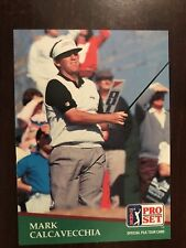 1991 Pro Set #160 - Mark Calcavecchia - Golf