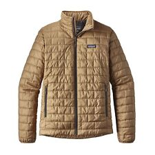 Patagonia Men's Nano Puff® Full Zip Jacket - Mojave Khaki - MJVK - M / Medium