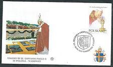 1995 VATICANO VIAGGI DEL PAPA POLONIA WADOVICE - SV8