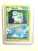 BLASTOISE - 2/102 - Base Set - Holo - Pokemon Card - Lightly Played