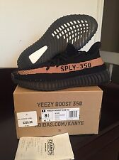DS ADIDAS YEEZY BOOST COPPER 350 V2 Sz-8.5 W/RECEIPT BY1605 Green Zebra Oxford