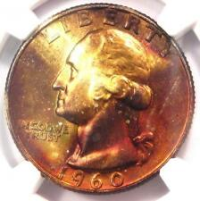 1960-D Washington Quarter 25C - NGC MS67 - Rare in MS67 - $3,000 Guide Value!