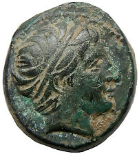 King of Macedonia Philip II AE18 Apollo Nude Athlete Horse Rare Greek Coin