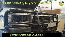 """80 series  4"""" x 6'' 60W   CREE LED DRL Headlights BLK"""