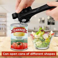 Stainless Ergonomic Steel Safety Side Cut Manual Can Tin Opener