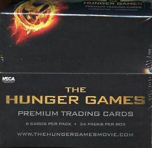The Hunger Games Movie Trading Card Box 24 Packs Neca 2012 Factory Sealed