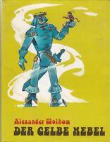 """Original - Alexander Wolkow """"Der gelbe Nebel"""" Märchenreihe Band 5 Schutzumschlag"""