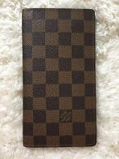 Authentic Louis Vuitton Damier Ebene Long Wallet