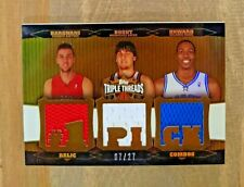 2006-07 Topps Triple Threads Relics Combos 07/27: Bargnani (jer. #)/Bogut/Howard