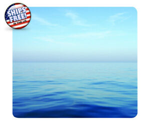 """NEW Blue Ocean Fellowes Recycled Mouse Pad Nonskid Base  8"""" x 9""""  Made in USA"""