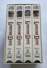 Lonesome Dove Vhs Tapes Box Set of 4 from Part 1 - 4 Western
