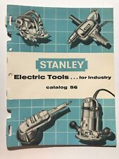 1956 Stanley Electric Tool Catalog w/ Price List