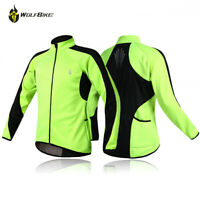 Cycling Jacket MTB Bike Jersey Thermal Warm Up Bicycle Windproof Waterproof Coat
