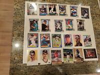Baseball Rookie Card Lot of 400 Bowman Stadium Club Donruss Fleer Score