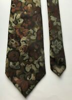 Sauve Floral Design Classy Sharp Fancy Polyester Men's Neck Tie Ties