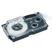 "1PK XR-9WE Black on White Label Tape for Casio KL-60 100 7000 8200 8800 3/8"" 9mm"