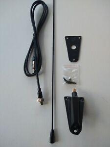 Jeep CJ & Wrangler AM FM Antenna Black Base Removeable Black Mast NEW