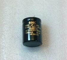 2 x BHC Capacitors 10,000uF 40V for Naim Audio PSU NAP140 NAP180 Power Supply