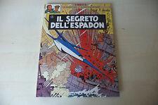"BLAKE E MORTIMER ""Il Segreto Dell'Espadon 2"" Carton. Ed. GANDUS 78 JACOBS fum 1"