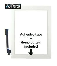 "White 9.7"" NEW IPAD 3 gen 3g Wifi Glass Digitizer Touch Screen Replacement UK"