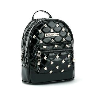 Rock Rebel Unicorn Black Gothic Punk Mythical Mini Backpack Bag HB83-BLKUNICORN