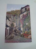 A R QUINTON Postcard 2948  HIGH STREET, CLOVELLY  Unposted   §A2912
