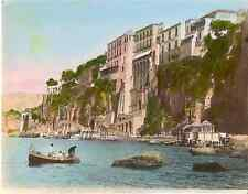 Italia, Sorrento Hôtel Tramontano e Maison du Tasse  Vintage albumen print,