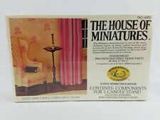 House of Miniatures Dollhouse Queen Anne Candle Stand Kit 40013 NEW