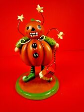 WHIMSICAL HALLOWEEN PUMPKIN FIGURINE