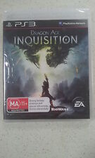 Dragon Age: Inquisition Sony PS3 Brand New and Sealed Australian PAL Version