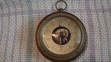 """RARE Antique 4"""" ATCO Barometer MADE IN FRANCE!"""