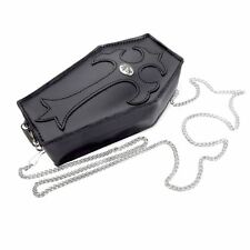 Alchemy Gothic Coffin Leather Purse