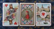 1913ca ANTICHE CARTE DA GIOCO ITALIA XIII SECOLO I ED. PIATNIK OLD PLAYING CARDS