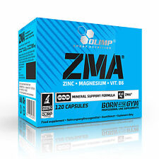OLIMP ZMA 120 Caps ZINC + MAGNESIUM + VIT B6, TESTOSTERONE BOOSTER