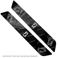 Saddlebag Reflector Decals For 14 Up  Harley - POW MIA WHITE - 001