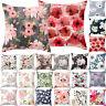 Blooming Floral Outdoor Garden Bench Seat Cushions Cover Home Pillowcase Decor