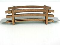 Modellbau Kleine Brücke Jordan 22 Fußgängerbrücke), 65x17 mm, Holz  45112