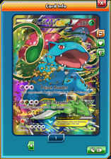 Pokemon TCG ONLINE Venusaur EX XY123 (DIGITAL CARD) Black Star Promo Generations