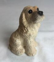 "Stone Critters Cocker Baby SCB-023 - Cocker Spaniel Puppy 2.5"" Tall Made in USA"