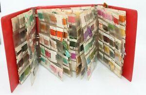 Vintage DMC Embroidery Floss Thread LOT Skeins Cross Stitch Oraganizers Books