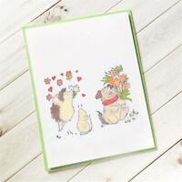 Hedgehog Transparent Stamps For DIY Scrapbooking Album Paper Cards RA