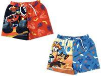 Official Kids Boys Children's Paw Patrol & Blaze Bermuda Swim Shorts 2 3 4 5