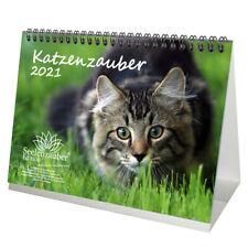 Katzenzauber DIN A5 Tischkalender für 2021 Katzen und Katzenbabys - Seelenzauber