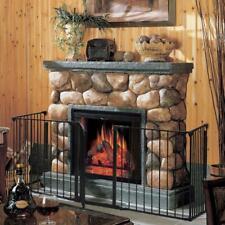 Safety Fence Hearth Gate BBQ Metal Fire Gate Fireplace Pet Cat Fireguard Gate