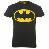 DC Comics Mens Batman T Shirt Crew Neck Tee Top Short Sleeve Print